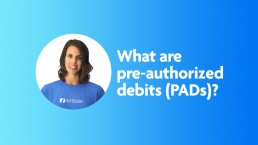 What are pre-authorized debits?