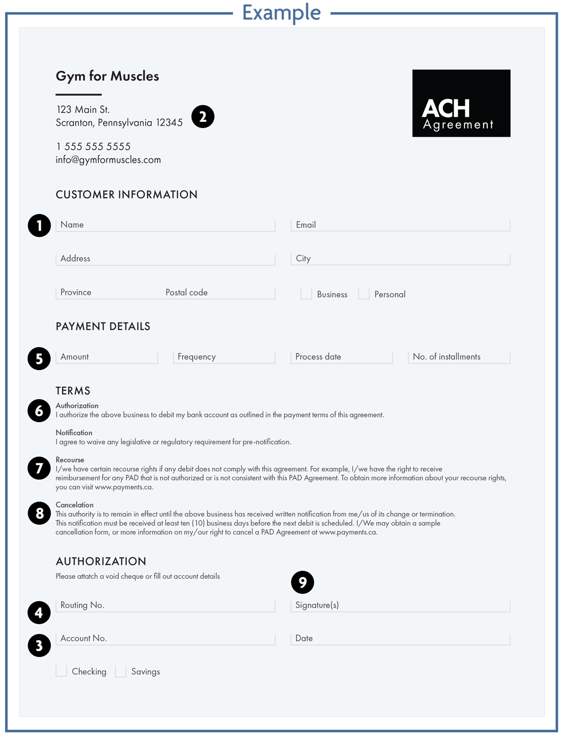 Authorization tool USA with numbers key